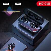 Mini Earbuds 5.0 Bluetooth Headset TWS Kabelloser Kopfhörer Stereo Hi-Fi Ko A0Z4