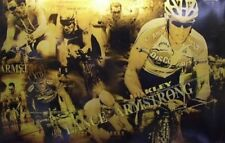 OAKLEY Lance Armstrong 2005 GOLD collectors promotional poster New Old Stock