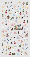 Buy 2 Get 1 Free Cute Moomin 3D Nail Art Sticker Nail Decals Manicure Gel Polish