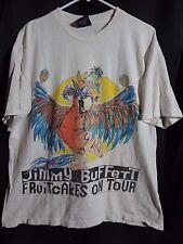jimmy buffett shirt fruitcakes on tour 1994 vintage double sided w tour dates xl
