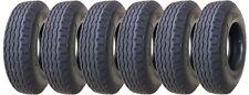 6 New Heavy Duty Highway Mobile Home Trailer Tires 8-14.5 14PR LR G- 11067