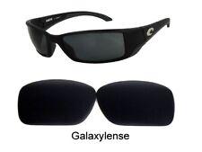 Galaxy anti-sea Lentes COSTA DEL MAR Blackfin Gafas De Sol Negro Polarizado
