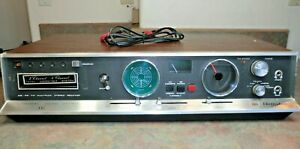 RARE Electrophonic 487 Vintage 4 Channel Quad Stereo Receiver & 8 Track Player