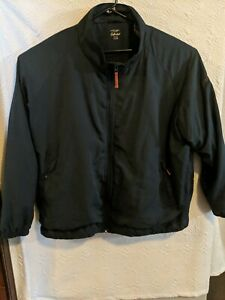 Cabelas Windcrest Men's 2XL reg full Zip Navy Blue Jacket