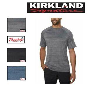 NEW! Kirkland Men's 4-Way Stretch Fabric Moisture Wicking Tee VARIETY-  G54