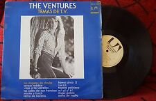 THE VENTURES *** Temas De T.V. (TV THEMES)** VERY RARE 1977 Mexico LP