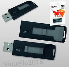32GB USB Speicherstick USB 2.0 Stick EMTEC C450 Slide FlashDrive 32 GB