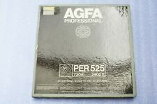 Tape Tonband AGFA PER 525   - Tape 1/4 in   - Used