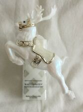 NEW Bath & Body Works Christmas White Reindeer Wallflower Plug In Diffuser