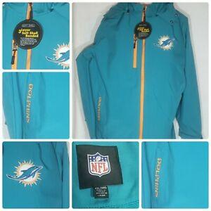 NFL Team Apparel Miami Dolphins GIII 3 Layer Soft Shell Jacket XL-NWT