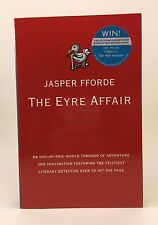 JASPER FFORDE The Eyre Affair UK 1st Softcover Signed