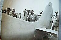 WAR FOTOGRAFIA WWII AERONAUTICA MILITARE CODA DI AEREO COLPITO 2 GUERRA MILITARI