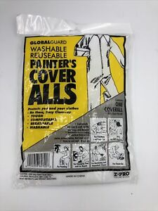 Heavy Duty Painters Coveralls - One Size- BRAND NEW - Globalguard Washable Reuse