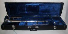 LARK SLIDE TROMBONE  M 4024 IN CASE WITH KEY