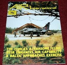 Air International Magazine 1982 January F-14 Tomcat,Bell P-39,Soviet Air Force