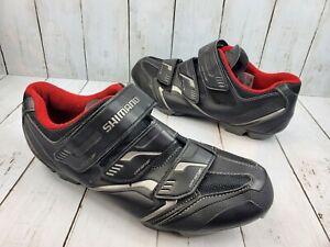 Shimano XC30L Black MTB Mountain Bike Shoes Mens 46 US 11.2
