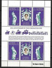 GILBERT ISLANDS:1978 SC#312 S/S MNH Elizabeth II Coronation Anniversary