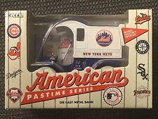 1993 ERTL American Pastime Series New York Mets Die Cast Bank NIB