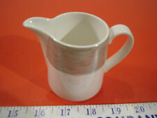 Dining Redesigned by Mikassa Spun Charcoal Porcelain Creamer - EUC