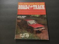 Road & Track Oct 1979 AMC's Eagle; Audi 4000; Lancia Zagato; VW Dasher  ID:19829
