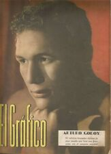 El Grafico Magazine Arturo Godoy Chilean Boxer On Cover 1940