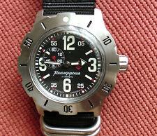 Wrist Auto Mechanical Watch VOSTOK KOMANDIRSKIE Commander Mens Fashion 350748