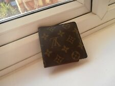 Used Louis Vuitton Unisex Monogram Wallet With Notes,  & Card Slots