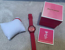 JUICY COUTURE LADIES GIRLS PINK WATCH WITH BOX BNWOT