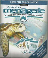 AUSTRALIAN MENAGERIE BOARD GAME - ADD-ON PACK - CORAL REEF HABITAT
