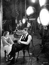 8x10 Print Clark Gable Joan Crawford on Set #872369484