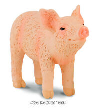 PIGLET SMELLING CollectA # 88344 Baby Pig Farm Animal Toy Replica  NWT