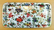 DAHER DECORATED WARE Floral Rectangular Tray - Made in England