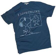"""Peanuts: """"I Love Chicks"""" Junk Food T-Shirt - Unisex Adult 2XL - Cla special!"""