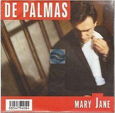 GERALD DE PALMAS mary jane CD PROMO neuf