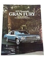 20 p 1977 PLYMOUTH GRAN FURY ORIGINAL SALES BROCHURE FULL-LINE 77 CATALOG