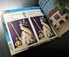 Turks & Caicos Islands. Reign of Elizabeth II. Booklet. 1977.  MNH (BI#52)