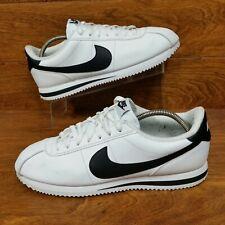 74fa0508 Nike Cortez Basic Leather (Men's Size 11) Athletic Sneaker Shoes White Black