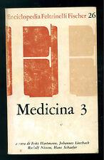 HARTMANN LINZBACH NISSEN MEDICINA 3 ENCICLOPEDIA FELTRINELLI FISCHER 26 1970