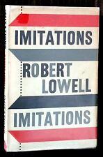 "1962 ROBERT LOWELL ""IMITATIONS"" FIRST UK ED HC DJ - RIMBAUD, RILKE, V HUGO, MORE"