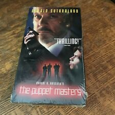 sealed THE PUPPET MASTERS (1994) VHS 1995 science fiction SCI-FI THRILLER aliens