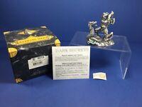 Tudor Mint, 6215 Dark Secrets-The Demon Slayer, Pewter w/ Swarovski Crystal, NIB