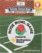2018 Rose Bowl Bowl Patch Georgia Oklahoma Official NCAA Jersey Logo NW Mutual
