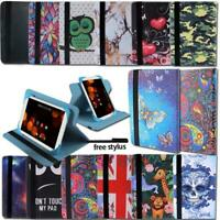 For Asus MEMO Pad 7 8 10 Tablet - Smart Folio Leather Rotating Stand Cover Case