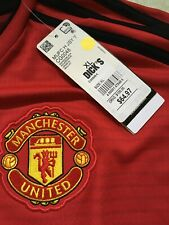 MANCHESTER UNITED HOME Soccer JERSEY 2018/19 CG0048 Adidas KID's youth XL
