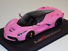 1/18 BBR Models Ferrari LaFerrari in Gloss  Pink Luxe limited to  10 pcs