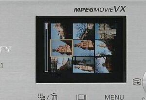 Display LCD Schermo For SONY DSC-L1