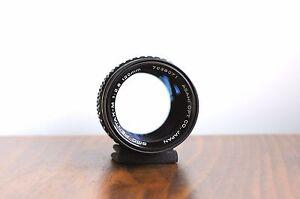 PENTAX Asahi SMC PENTAX-M  120mm  f/2.8  Portrait Lens   ** Great Condition **