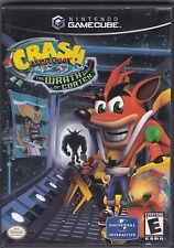 Crash Bandicoot: The Wrath of Cortex (Nintendo GameCube, 2002) game Complete