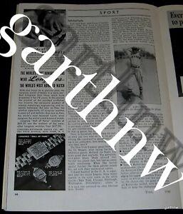 SATCHEL PAIGE 1940 NEGRO LEAGUES PHOTO FEATURE KANSAS CITY MONARCHS TRAVELERS