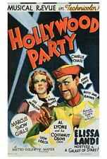 HOLLYWOOD PARTY Movie POSTER 27x40